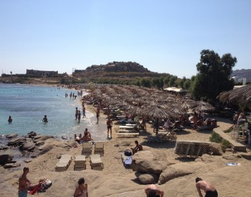 Go to busy Paranga beach to party