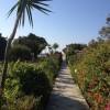 在您居住地的下面漫步穿过美丽的花园到达海滩