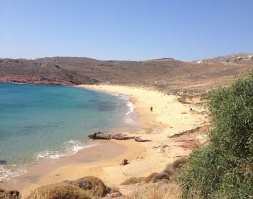 Visit the magnificent Agios Sostis beach